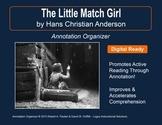 """""""Little Match Girl"""" by Hans Christian Andersen: Annotation Organizer"""