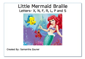 The Little Mermaid Braille Game
