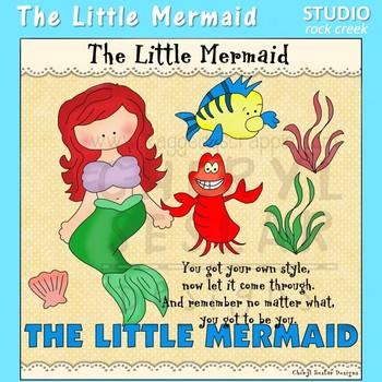 The Little Mermaid Clip Art C Seslar