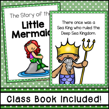 The Little Mermaid Emergent Reader