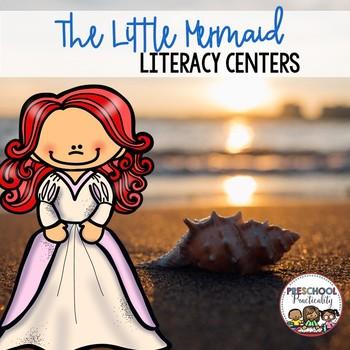 The Little Mermaid Preschool Literacy Centers