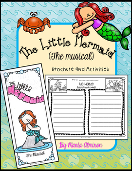 Unit based on THE LITTLE MERMAID {Brochure and Activities}