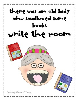 The Little Old Lady Who Swallowed Some Books