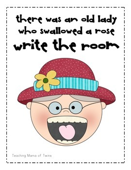 The Little Old Lady Who Swallowed a Rose
