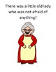 The Little Old Lady Who Was Not Afraid Of Anything Adapted Book