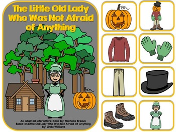 The Little Old Lady Who Was Not Afraid Of Anything- Adapted Book {Autism}