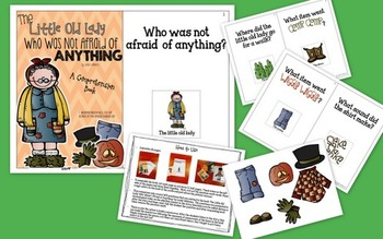 The Little Old Lady Who Was Not Afraid Of Anything: Comprehension Book