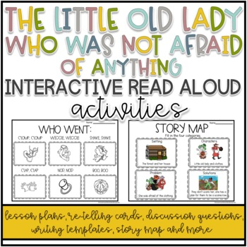 The Little Old Lady Who Was Not Afraid Of Anything Interactive Read Aloud