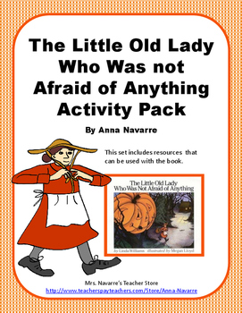 The Little Old Lady Who Was Not Afraid of Anything Activity Pack