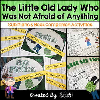 The Little Old Lady Who Was Not Afraid of Anything ~ Book Activities