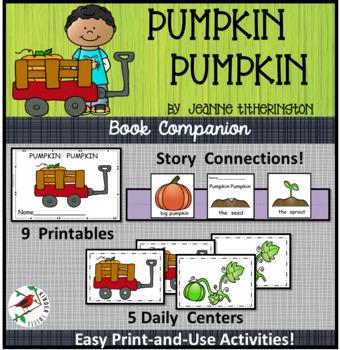 Pumpkin, Pumpkin-Literacy Centers for Emergent Readers