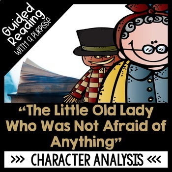 The Little Old Lady Who Was Not Afraid of Anything Guided Reading Activities