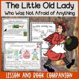The Little Old Lady Who Was Not Afraid of Anything Lesson and Book Companion