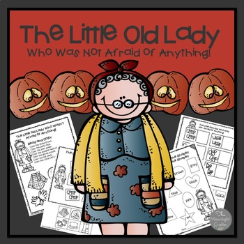 The Little Old Lady Who Was Not Afraid of Anything Printables and Retelling