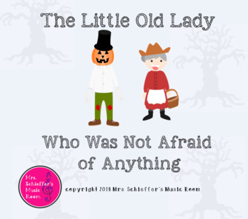 The Little Old Lady Who Was Not Afraid of Anything: Sound Story/Ta, Ti-ti