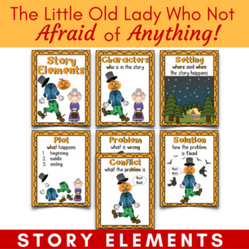 The Little Old Lady Who Was Not Afraid of Anything Story Elements Introduction