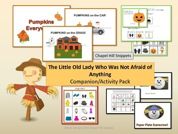 The Little Old Lady Who Was Not Afraid of Anything companion pack/ SLP and EC