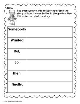 """""""The Little Old Lady Who Was Not Afraid of Anything"""":Literacy Activities"""