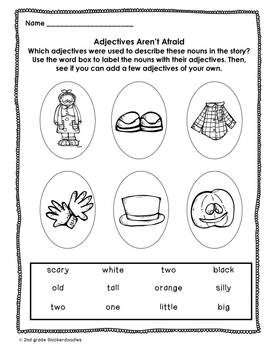 """The Little Old Lady Who Was Not Afraid of Anything"":Literacy Activities"