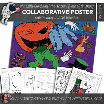 The Little Old Lady Who Wasn't Afraid of Anything Collaborative Poster Plus