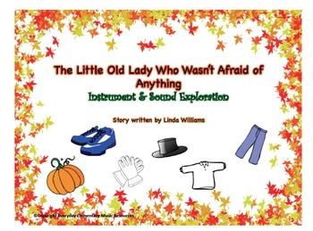 The Little Old Lady Who Wasn't Afraid of Anything- Fall Themed Music Bundle!