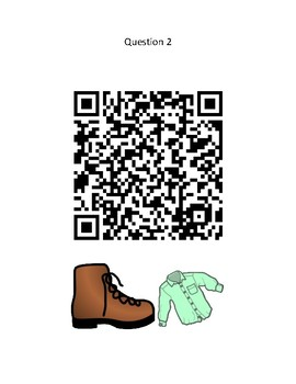 The Little Old Lady Who Wasn't Afraid of Anything QR Code - Halloween