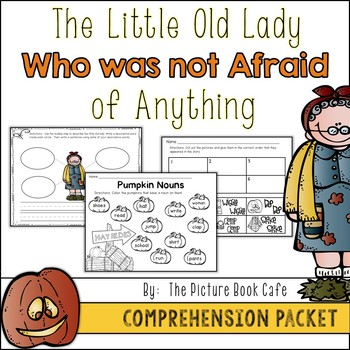 The Little Old Lady Who Was Not Afraid of Anything Literature Packet