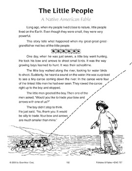 The Little People (A Native American Fable)