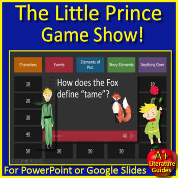 The Little Prince Review Game