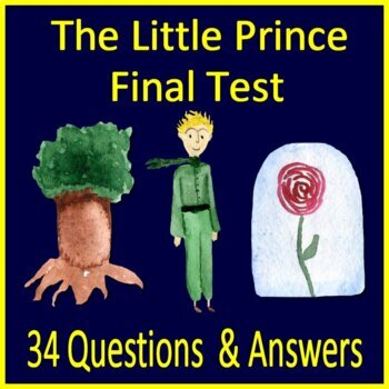 The Little Prince Test Multiple Choice Answer Key Common Core