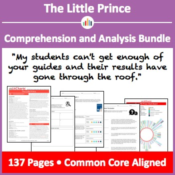 The Little Prince – Comprehension and Analysis Bundle