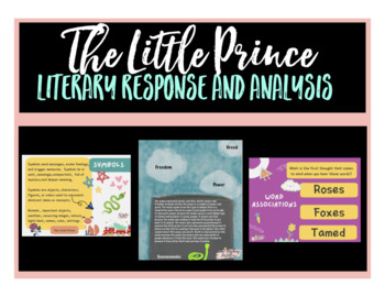 The Little Prince: Literary and Response Unit of Study