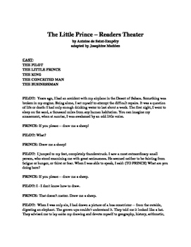 The Little Prince - Readers Theater