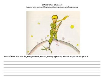 The Little Prince-Response to Illustration-Baobabs