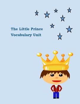 The Little Prince: Vocabulary Unit on Entire Novel (Scholastic Version)