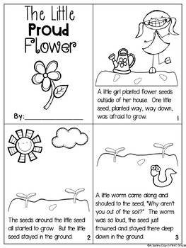 The Little Proud Flower {diphthongs ou & ow!}