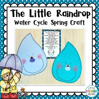 The Little Raindrop Spring Weather Craft