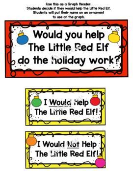 The Little Red Elf Book Response Activities