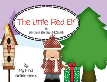 The Little Red Elf Book Response Freebie