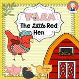 The Little Red Hen Activities {English and Spanish}