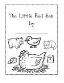 The Little Red Hen Activity Writing Book