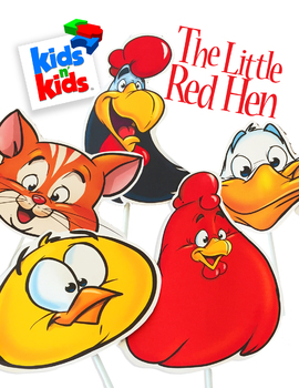Play Script, The Little Red Hen, An Act-It-Out play