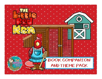 The Little Red Hen Book Companion and Theme Pack