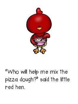 The Little Red Hen Classbook for K-3