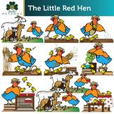 The Little Red Hen Clip Art Set