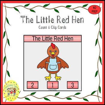 The Little Red Hen Task Cards