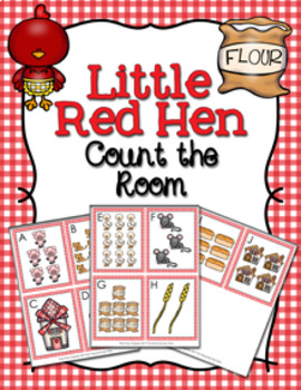 Little Red Hen Count the Room