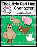 Little Red Hen Fairy Tale Activity: Puppets, Crafts for Retelling