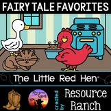 Fairy Tales Activities for The Little Red Hen