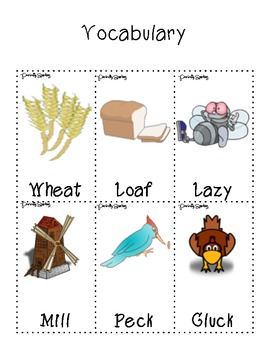 photograph regarding The Little Red Hen Story Printable named The Minor Pink Rooster - Substantial Sport Packet with Worksheets and Printables!